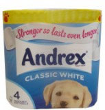 andrex classic white