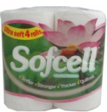 2ply Sofcell Super soft