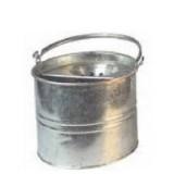 11/08 Galvanised Mop Bucket